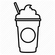 Image Result For Starbucks Cup Outline Frappuccino Starbucks Cups Starbucks