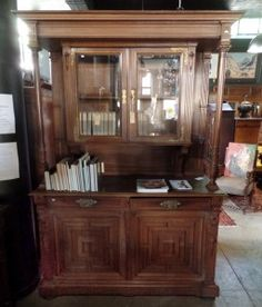 Four Year Fabulous - Provenance Auction House: An Unusual Early C Flemish Oak Hunting Cabinet. South African Art, Very Happy Birthday, China Cabinet, Highlights, Hunting, Auction, Flooring, Storage, House
