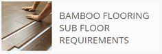 Subfloor requirements