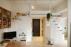 J'ai relu deux fois la surface ! 15 m², c'est à priori minuscule. Le talent de A Lentil Design, un studio d'architecture intérieure situé à Taïwan, a été de revoir complétement la…
