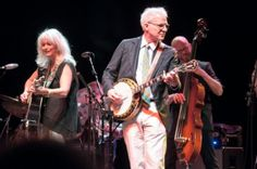 Steve & Emmy Lou Harris in Eugene, Oregon - courtesy of Steve Martin Steve Martin, Emmylou Harris, Grow Old With Me, Like Fine Wine, The Older I Get, Going Gray, I Icon, Aging Gracefully, Special People