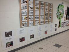 """This is a """"documentation panel"""" which is really just a display of work that makes the learning visible both to students and others in the community."""
