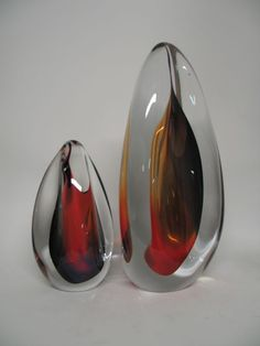 bohaglass.co art glass paperweights- Love the design of these
