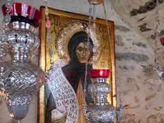 Παναγία Ιεροσολυμίτισσα : Θαύμα με τους Χαιρετισμούς της Παναγίας στην Αγία ...