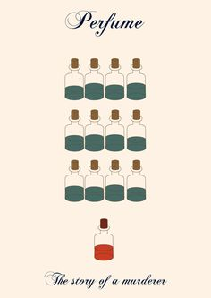 Perfume: The Story of a Murderer (2006) ~ Minimal Movie Poster by Vaness Antunes #amusementphile