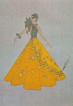 Art Deco Dress - Erté