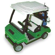 LEGO Golf Cart: A LEGO® creation by Eric Hunter