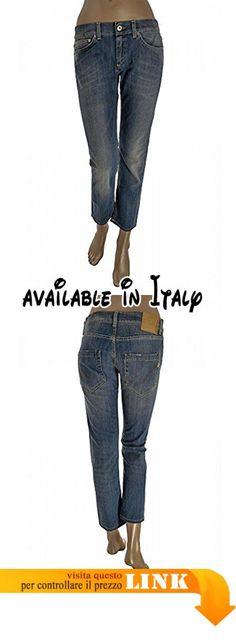 B071LB5VKZ : DONDUP jeans donna - cinque tasche - effetto delave (26).  DONDUP