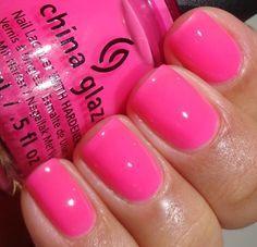 China glaze - heat index esmalte importados, beleza, esmalte de unha china glaze Fancy Nails, Love Nails, Trendy Nails, How To Do Nails, Diy Nails, Nail Art Designs, Colorful Nail Designs, China Glaze, China Nails