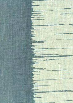 Collection:Toile Pattern: Ikat Stripe Style No: 2103 Color: Blue Content: 100% linen Width: 54 in Repeat: 6.5 in
