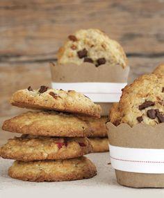 Kosblik-idee: Bak gesonde koekies in 30 minute Great Recipes, Favorite Recipes, Good Food, Yummy Food, Oat Cookies, How To Make Cookies, Biscuit Recipe, Something Sweet, Baked Goods