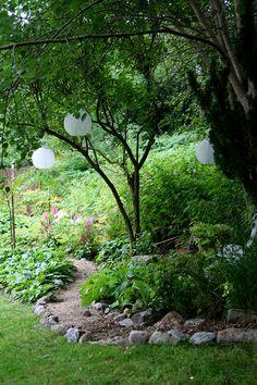 I love my lamps! - Lindas trädgårdsblogg