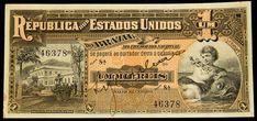 Numismática- Brasil, Cédula (1) 1000 réis 9 estampa flor de estampa, valor de catalogo R$950