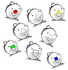 Le nez de Léo le clown Clown Cirque, Le Clown, Mardi Gras, Daycare Lesson Plans, Clown Crafts, Leo, English Worksheets For Kids, Circus Theme, Pre School