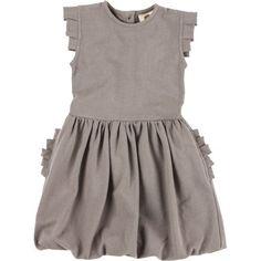 7e8a7e72e2 Kate Quinn Organics Pleated Arm Ruffle Pocket Dress