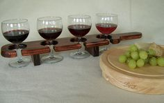 Paddles for wine or beer flights