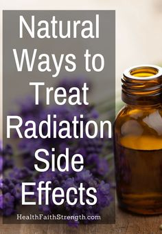 While radiation isn't painful, the side-effects & damage that it causes certainly can be. So here are some natural ways to treat radiation side effects. Natural Cancer Cures, Natural Cures, Natural Health, Chemotherapy Gifts, Chemo Brain, Brain Tumor, Radiation Therapy, Holistic Remedies, Health Remedies