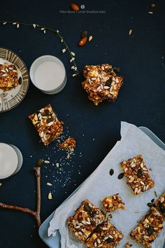 Healthy quinoa bars | What Should I Eat For Breakfast Today