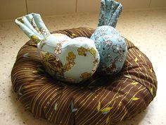 Nest for Birdie Pincushion — Sharon Holland Designs
