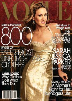 Sarah Jessica Parker by Annie Leibovitz Vogue US September 2005