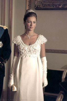 A gorgeous Princess Paola of Liege, later Queen of Belgium. Mids 60s.
