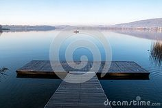 Pontile sul lago di Pusiano - Pier on the lake