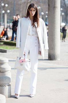 Street Style Photos Milan Fashion Week - Fall 2014 Street Style PIctures MFW