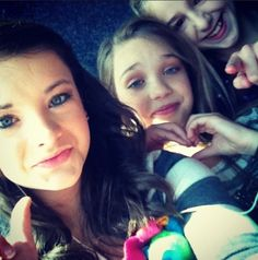 dance moms brooke maddie and chloe