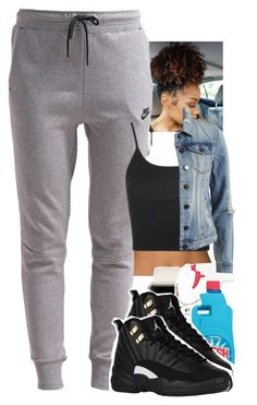 """SC. day 5"" by toniiiiiiiiiiiiiii ❤ liked on Polyvore featuring CÉLINE, NIKE, Topshop and VILA"