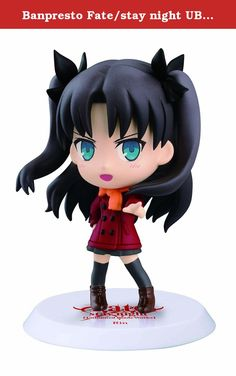 Banpresto Fate/stay night UBW 2.4-Inch Rin Tohsaka Figure Chibi-Kyun-Chara Collection. New Chibi-Kyun-Chara collection from Fate/stay night UBW. Unlimited Blade Works. Collect them all. Each sold separately. Age Grade 15+.
