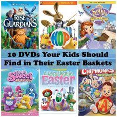 10 Must-Have DVDs for Your Kids Easter Basket
