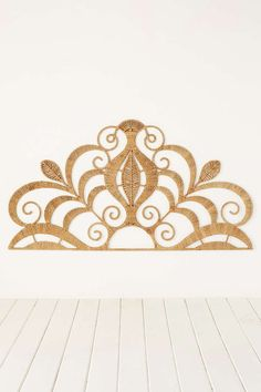 Rope Lace Tiara Headboard   Urban Outfitters