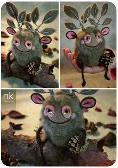tinyhearthome:  miraclebabymouse:  http://www.nekranea.bigcartel.com/product/forest-spirit This is something!  Love her work ♡