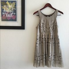 Free People Eyelet Mini Dress Flattering Free People eyelet mini features a gorgeous open back keyhole cut. Comfortable and classy, hand wash cold and lay flat to dry. Free People Dresses Mini