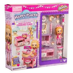 Happy Places Shopkins Welcome Pack - Berry Delicious Cooking Class