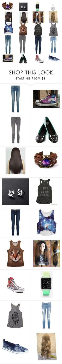 """""""This is My Gang"""" by kchest ❤ liked on Polyvore featuring beauty, Yves Saint Laurent, HVBAO, M.i.h Jeans, T.U.K., rag & bone, Converse, Casetify, rag & bone/JEAN and Rocket Dog"""