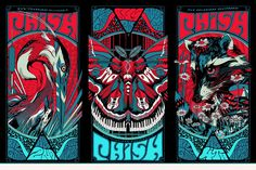 Phish - Tyler Stout - 2013 (triptych) ----