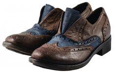 [Modello HNGR 3491 WASH TDM] #RITAcollection #oxford #shoes #glamour #hangar