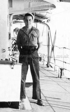 photo of sailor on deck of ship - Google Search