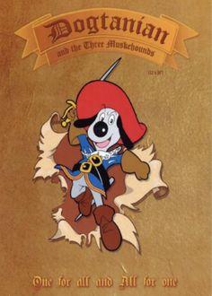 #Dogtanian - D'Artagnan und die 3 Musketiere - Die berühmte Geschichte des D'Artagnan und den drei Musketieren wurde schon viele Male verfilmt aber sicher noch nie auf solch lustige und dennoch spannende Weise, wie in dieser #Kinderserie: http://www.kinderkino.de/serien/dogtanian/-dartagnan-und-die-3-musketiere/