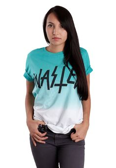 Wasted - Deep Dye - T-Shirt - Offizieller Streetwear Online Shop - Impericon.com