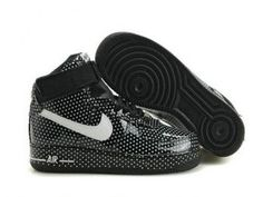 2X31oO Men's Air Force 1 25th High Shoes Black White On Sale