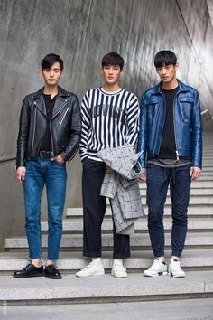 The collection of sharply styled guys snapped from the street of Seoul fashion week is rich in fashion inspiration.