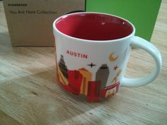 Starbucks Tasse/Mug AUSTIN, USA - You Are Here Collection