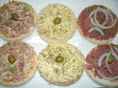 Mini pizza …