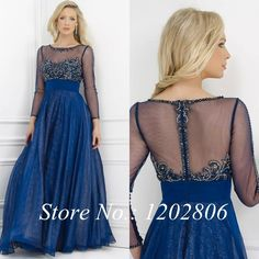 USD 125.58 Open Back Dresses, Formal Dresses, Blue Ball Gowns, Chiffon Dress, Mother Of The Bride, Plus Size Dresses, Designer Dresses, Dresses With Sleeves, Wedding