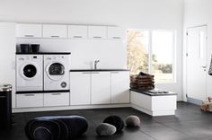 Washer and dryer up <3