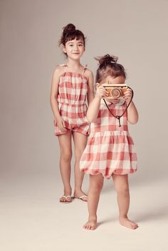 Sweet bloomer outfits at Egg by Susan Lazar for kids and babies fashion spring/summer 2016