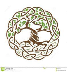 Keltischer Baum Des Lebens - Download von über 42 Million Vorrat-Fotos der hohen Qualität, Bilder, Vectors. Melden Sie sich FREI heute an. Bild: 60399474