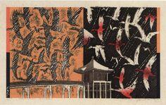 akira kurosaki japanese woodcut - Google Search